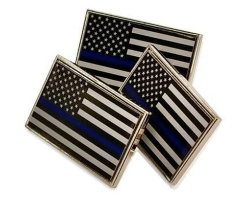 39dcad1fa0ab Buy: $10.99 3 Pack of Thin Blue Line American Flag Police Support Lapel  Pins Tie TacksPins & Buttons