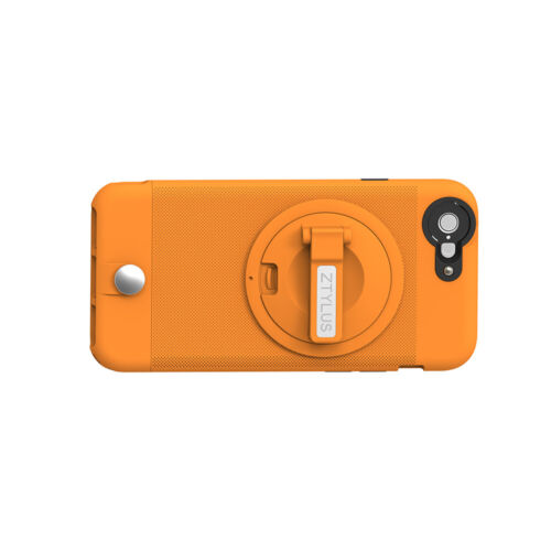 iPhone 6 6s Case with stand Clip for Car Air Vent Holder [Orange]