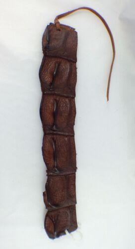 Genuine Australian Real Crocodile Leather Bracelet Wristband / Brown / NT Aus