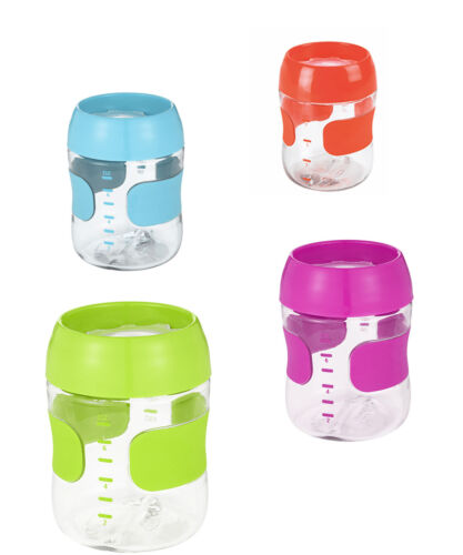 OXO TOT Training Cup 7 oz BPA PVC Free Translucent Lid Non Slip Grip