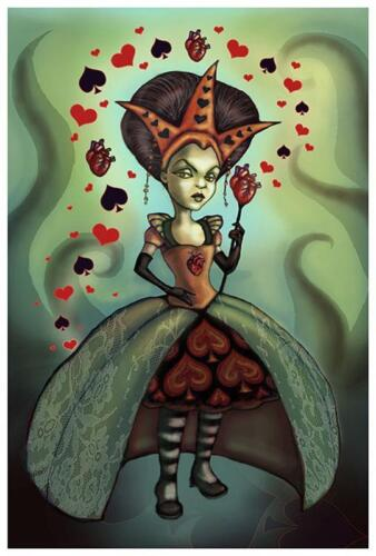 Queen of Hearts by Diana Levin Fine Art Print Fairy Tale Alice in Wonderland