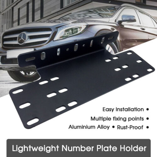 2x Simple Fix Universal European Euro Number License Number Plate Holder Frame