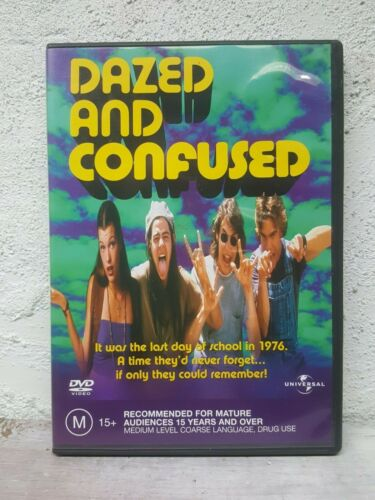 Dazed And Confused (DVD) CULT COMEDY RARE - Region 2,4,5