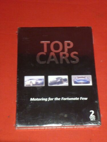TOP CARS - MOTORING FOR THE FORTUNATE FEW 2 DVD SET OF SPORTS CARS SUPERCARS