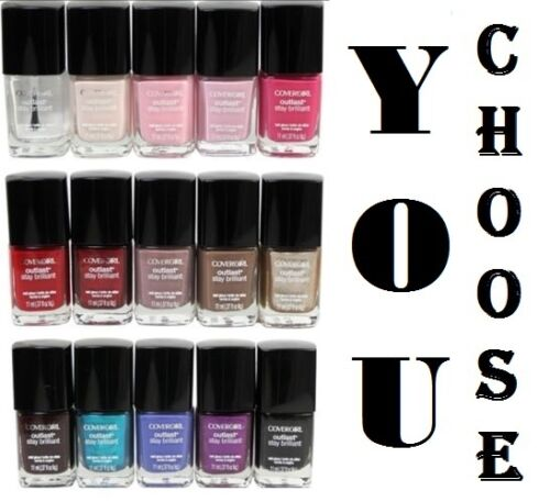 Covergirl Outlast Stay Brilliant Nail Gloss Polish Buy 2 or more Get Free Shipp