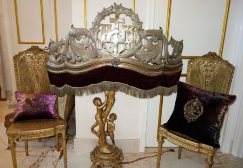 ciel de lit antiques us. Black Bedroom Furniture Sets. Home Design Ideas