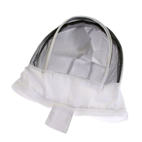 Beekeeping White Fencing Veil for Buzz Work Wear Suits