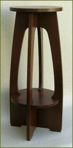 Fern Stand Plans, Stickley / Limbert Mission Arts and Crafts Furniture Plans