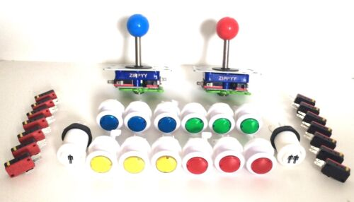 Arcade Joystick and Button Pack, Select your colours
