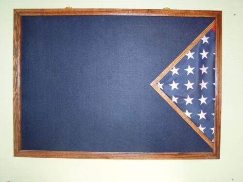 Military Uniform Display Case / Burial Flag Case / Military Awards And Flag CaseOther Militaria - 135