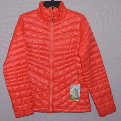 The North Face Women ThermoBall Full Zip Jacket PrimaLoft Insulation Puffer New