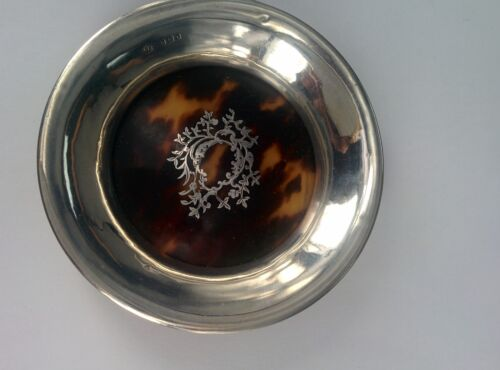 Antique Solid Sterling Silver Plate