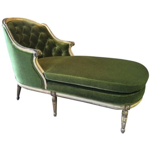 Early 20th Century French Louis XVI Chaise Lounge