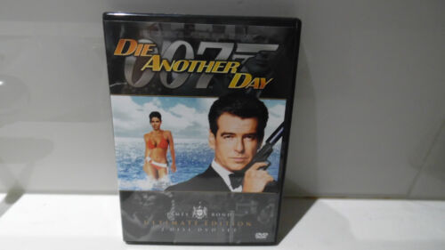 007  * DIE ANOTHER DAY * ULTIMATE EDITION 2 DISC DVD SET ( AS NEW/ NEVER USED )