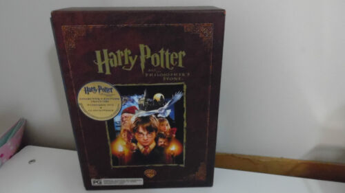 * HARRY POTTER AND THE PHILOSOPHER'S STONE * WIDESCREEN  DVD  & CD   ( AS NEW )
