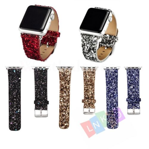 Christmas Leather Watch Bands Wrist Strap Bracelet For Apple Watch Series 1/2