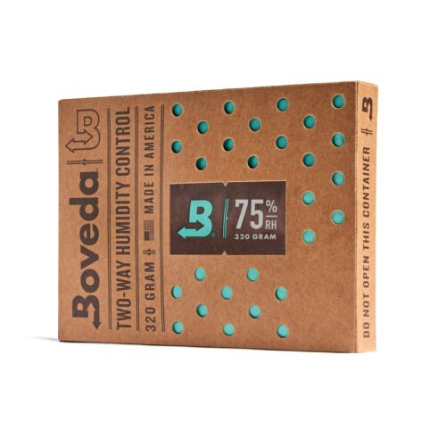 BOVEDA 75% RH (320 GRAM) - INDIVIDUALLY OVER-WRAPPED
