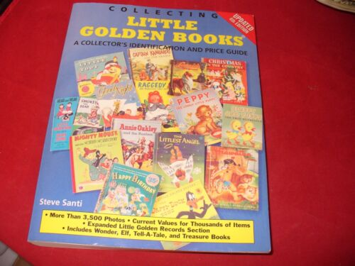 Collectiing Little Golden Books  identification and price guide