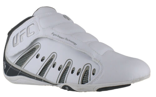 Mens/Boys UFC MMA White Sports Leisure Kick Boxing Mid Boots Trainers