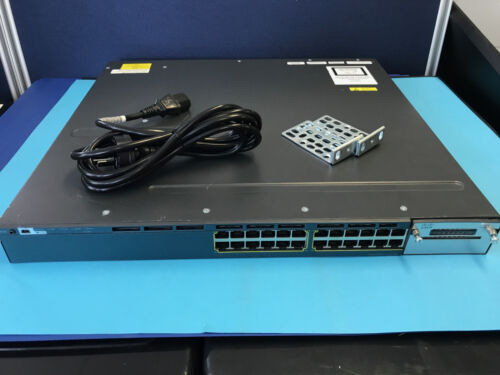 Cisco WS-C3560X-24P-L  24 port POE GIG Switch