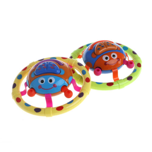 Cute Baby Children Kids Sound Musical +Light Ladybug Instrument Toys Gift