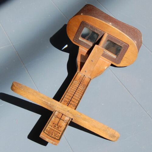 Antique Keystone View Co. Stereoscope Slide Viewer,