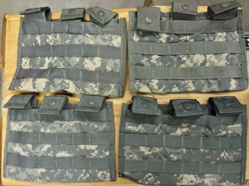 Lot of 10 Triple Mag Pouches ACU Molle 3 Magazine Shingle Pouch US Army 3X30 VGC