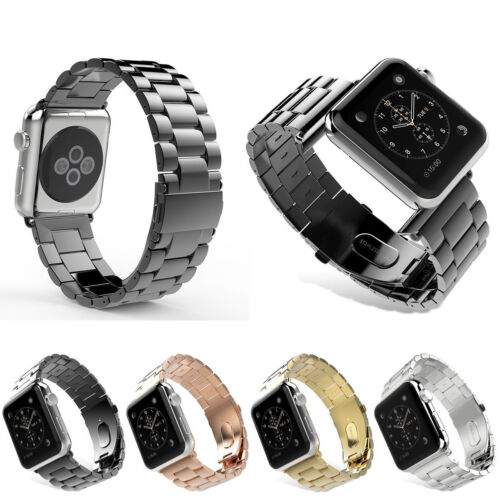 Stainless Steel Link Bracelet Watch band Strap For Apple Watch Series 3 / 2 / 1