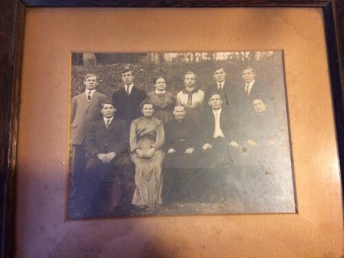 Antique Frame Family Portrait