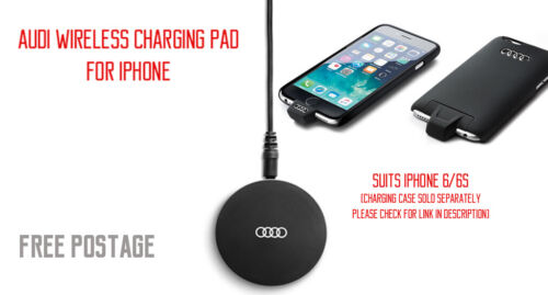 New Genuine Audi Wireless Charging Pad for Apple iPhone #8W0051191