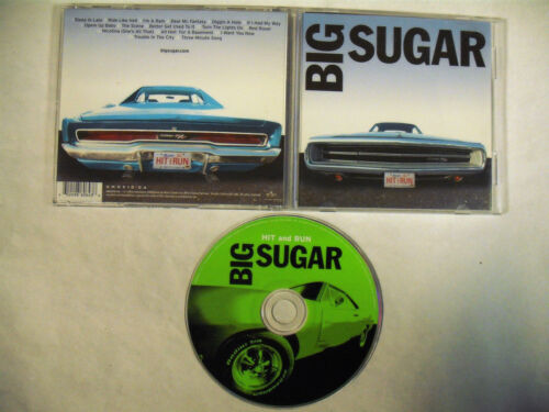 BIG SUGAR The Best Of Hit And Run CD Canada