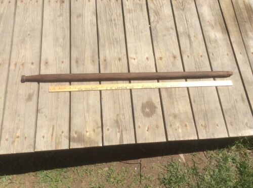 Primitive Wood Grain Thresher Tool , Handle , Country Farm , Shabby