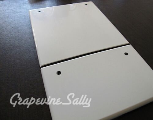 Wedgewood Vintage Stove Parts Original Exterior White Double Oven Door Panel
