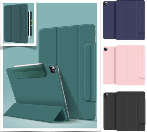 Magnetic Year 2020 iPad Pro 12.9 inch Pro 11 inch Smart Cover Pencil Holder Case