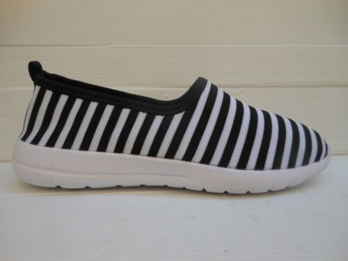514 COLORS OF CALIFORNIA SCARPA DONNA/SHOES WOMAN SLIP ON BLACK/WHITE