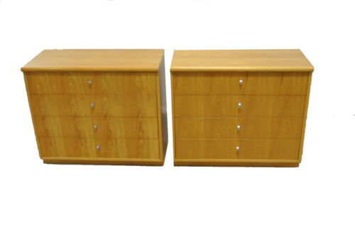 MID CENTURY MODERN 4 DRAWER CHESTS / NIGHTSTANDS BY FOUNDERS