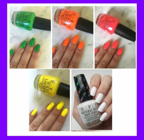 OPI Summer '16 TRU NEONS Bright Nail Polish Lacquer Collection *PICK COLOR* .5oz