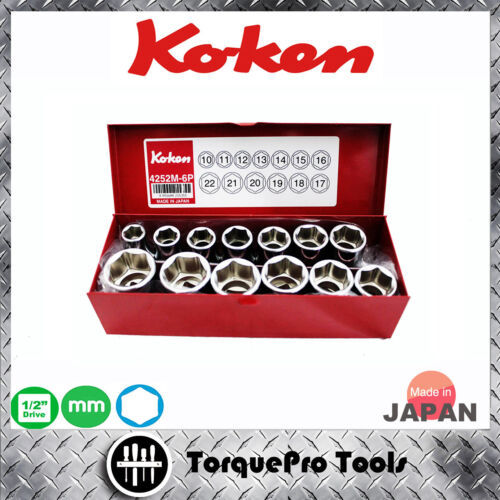SQ NEW Koken 1//2 Impact Double Joint 14772-P genuine from JAPAN 12.7 mm