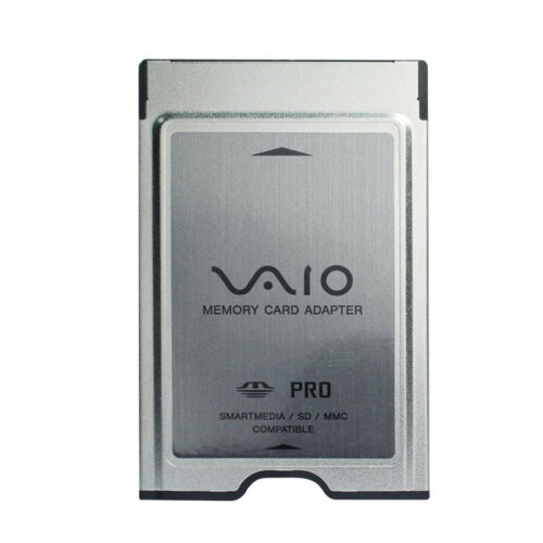 Sony PC Card Adapter For SD MS PRO MMC Card PCMCIA Card Adapter