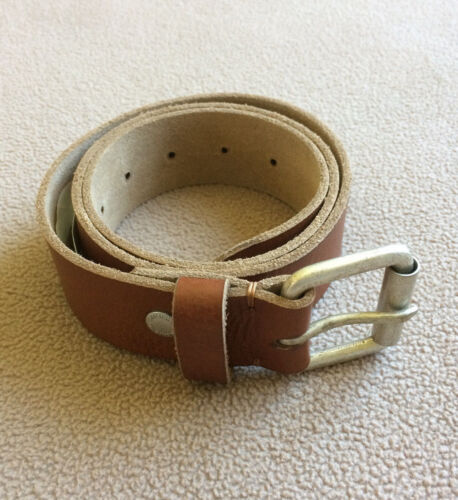American Eagle Outfitters Men's Brown Leather Belt -30/32/34/36 NWT