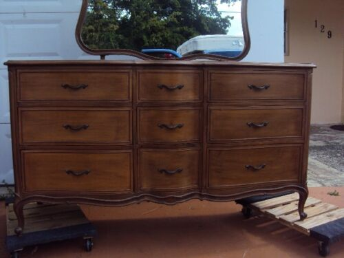 ( French Provincial Antique Bedroom Set )by Drexel Touraine