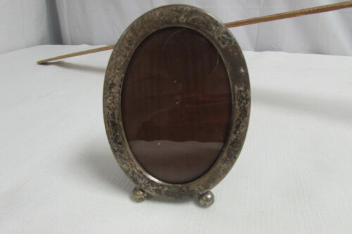 Vintage Antique Oval Gorham Sterling Silver 303R Picture Frame 4x3  LOOK!!