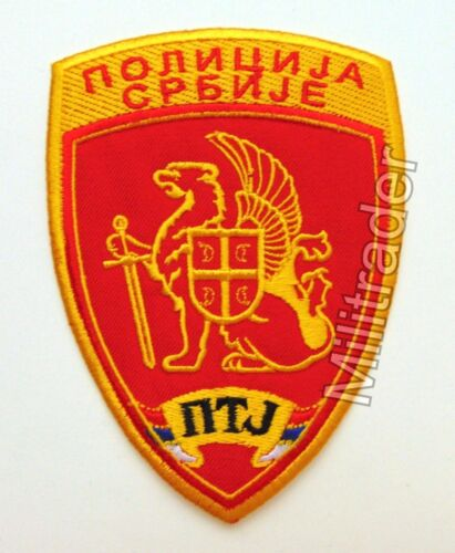 Serbia Serbian Counter-Terrorist Unit Police PatchOther Militaria - 135