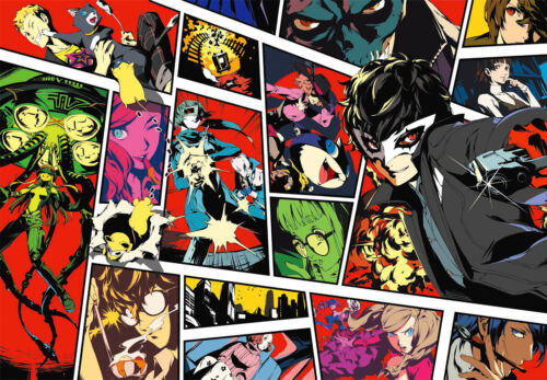 Persona 5 Poster - All Character Collage Art - High Quality Prints