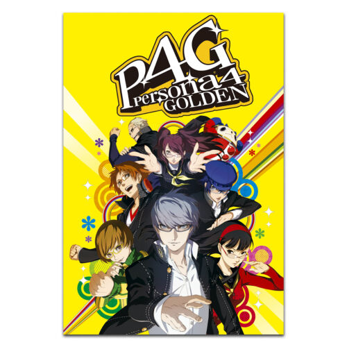 Persona 4 Poster - Official Art - High Quality Prints
