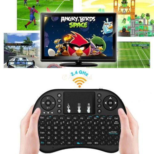 Backlight 2.4G Mini Wireless Keyboard Mouse Touchpad For Android Smart TV Box i8
