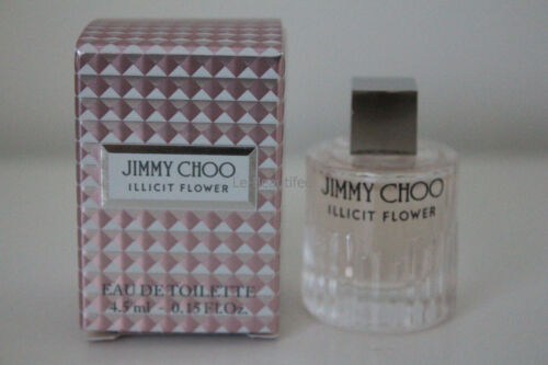 Jimmy Choo Illicit Flower Eau De Toilette 4.5mL Deluxe Travel Size BNIB