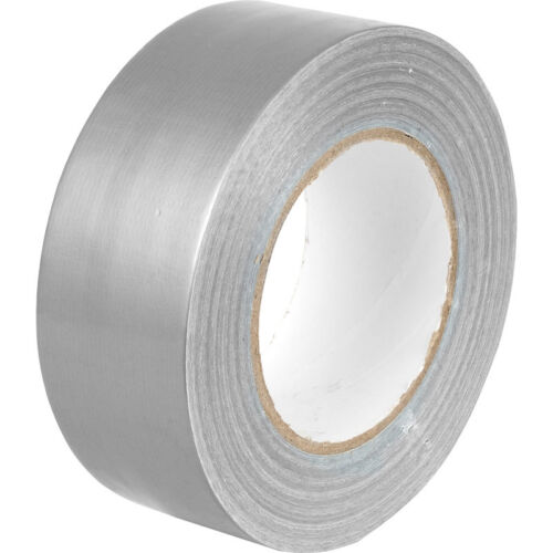 """Strong Silver Duck Duct Cloth Waterproof Gaffer Gaffa Tape 2"""" 50mm X 45m  <br/> FREE & FAST DELIVERY***PRICES REDUCED***LIMITED OFFER"""
