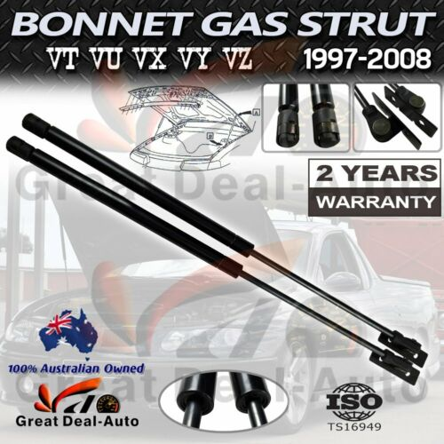 New Pair Bonnet Gas Struts for Holden Commodore VT VU VX VY VZ Calais Statesmen <br/> TOP SELLER✔ PREMIUM QUALITY✔ FAST SHIPPING✔ SAVE MONEY✔
