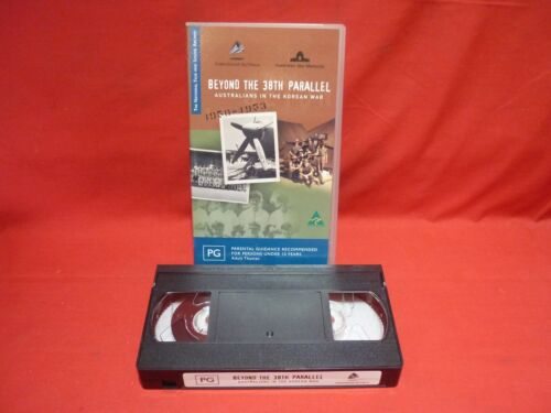 BEYOND THE 38th PARALLEL AUSTRALIANS IN THE KOREAN WAR VHS VIDEO TAPE VGC